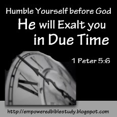 Empowered Bible Study Ministries: In Due Time!