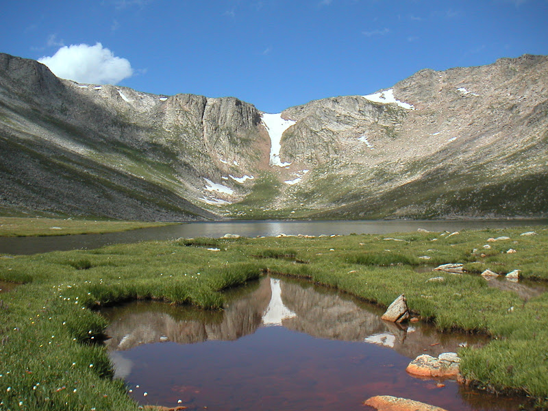 Mount Evans • Summit Lake