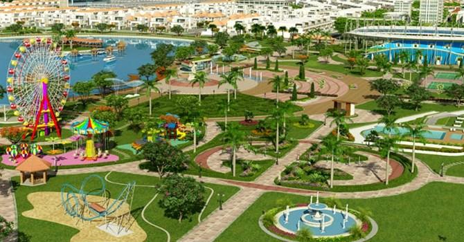 Công viên gần dự án The K Park VẲn Phú