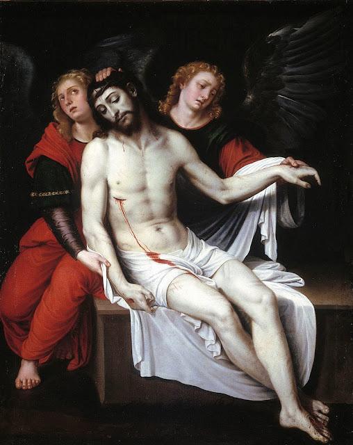 Francisco Ribalta - Cristo muerto sostenido por dos ángeles