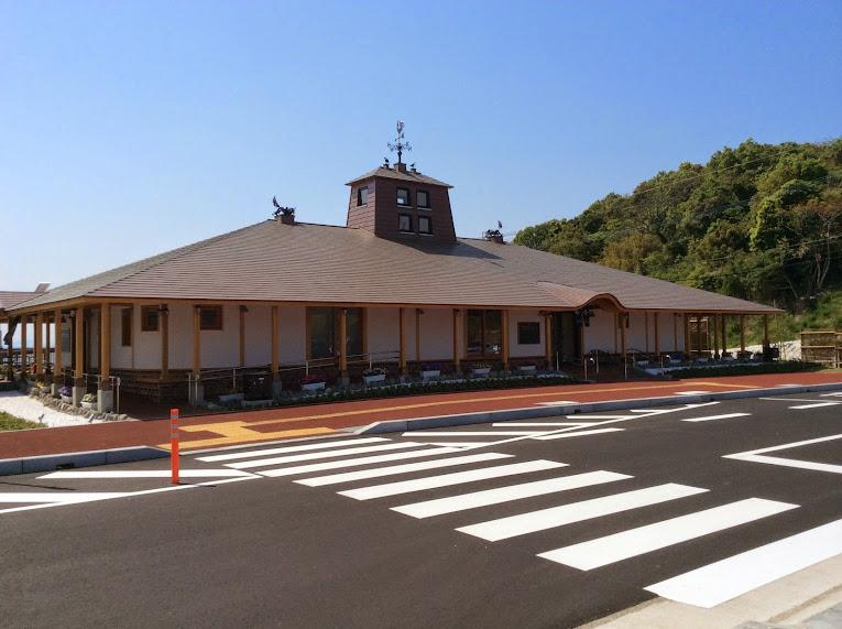川内港ターミナルの外観
