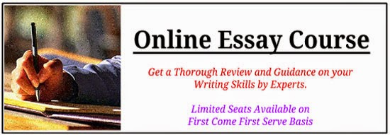 Essay writing format for bank exam