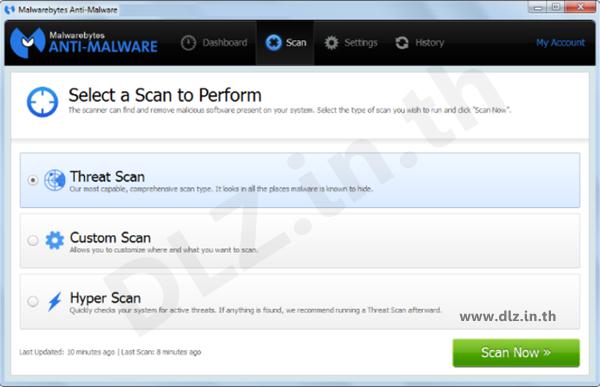ดาวน์โหลด Malwarebytes Anti-Malware โหลดโปรแกรม Malwarebytes ล่าสุดฟรี
