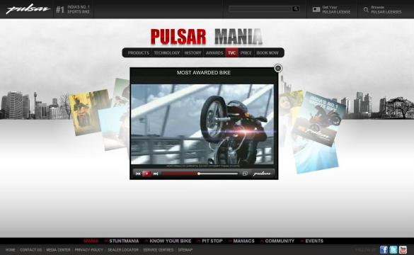 Pulsar TVC Collection