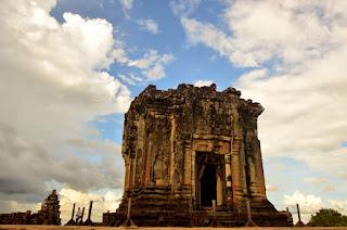 Szczyt Phnom Bakheng.