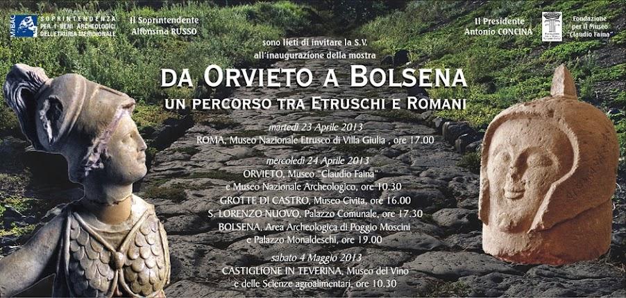 Da Orvieto a Bolsena: un percorso tra Etruschi e Romani