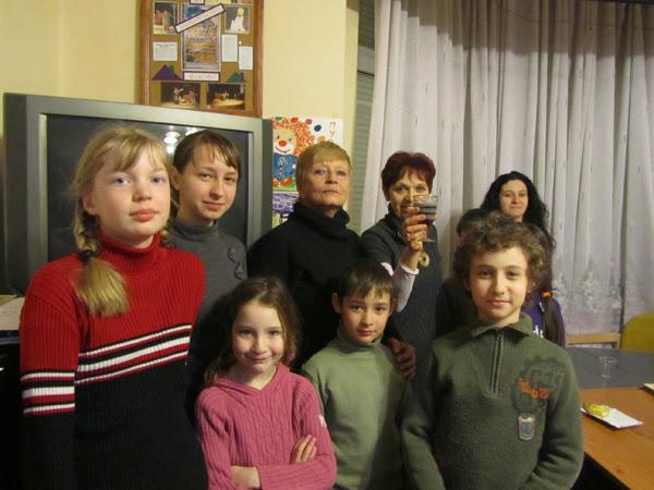 Участники Детского дневного центра и Воскресной школы