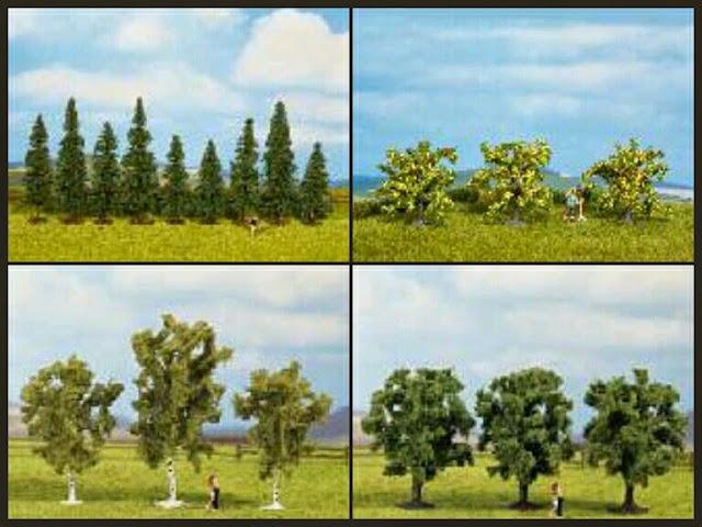 árboles Classic trees de Noch