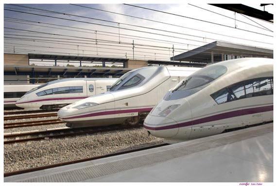 Más cerca el AVE enter Madrid y Extremadura