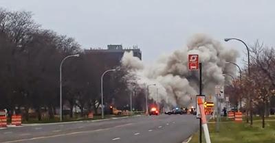 North Park Plaza vai abaixo em dramática implosão planeada