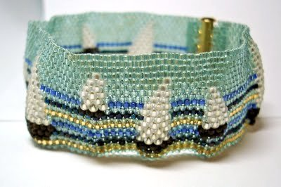 Regatta Bracelet by Chrisbeads