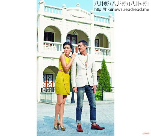 黃德斌和陳茵媺在《天梯》中演繹一幕真摰簡單的舊時代愛情故事,觸動觀眾心靈。攝影:葉君海