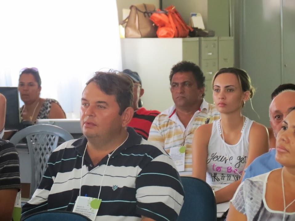 PARTICIPAÇÃO: O agropecuarista Jonas Valdevino participando de encontro com prefeitos, vereadores, ONGS, entidades, igrejas e associações sobre meio ambiente.
