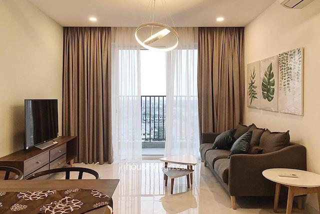 Căn hộ 2 phòng ngủ tại Vista Verder quận 2 được thiết kế với màu sắc trung tính