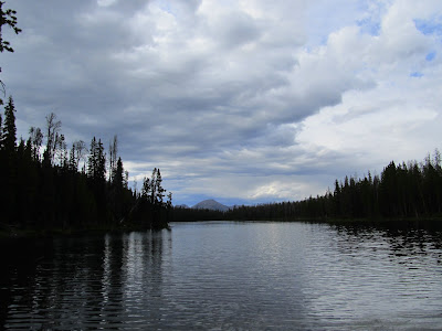 Lodgepole Lake with Mt. Agassiz in the distance