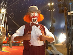 Clown at the 2012 Cole Bros. Circus