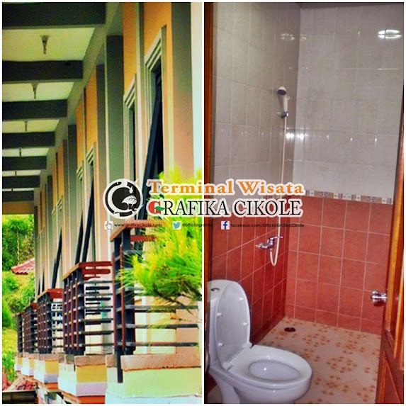 pondok wisata alamdan hotel di lembang, hotel murah lembang hanya di grafika cikole