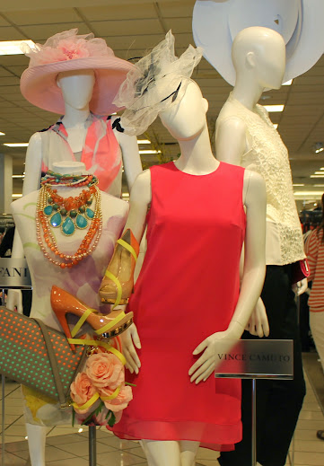 Spring Fashions at Macy's Flower Show Event