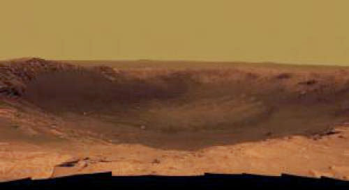 Mars Sliding Behind Sun After Rover Anniversary