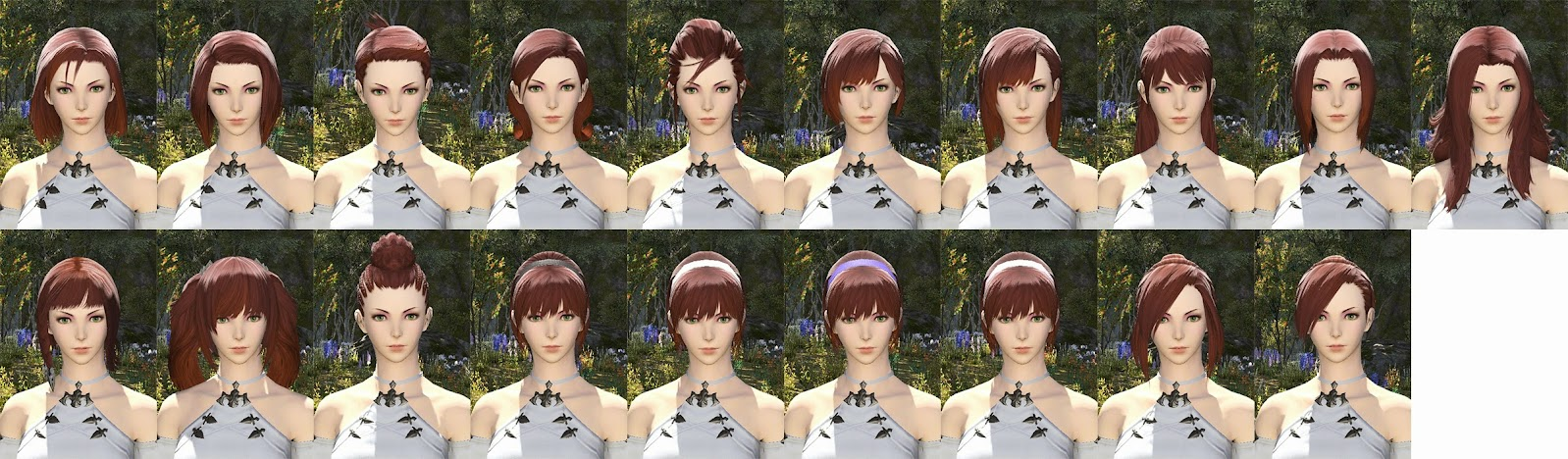 Hyuar Female Hair