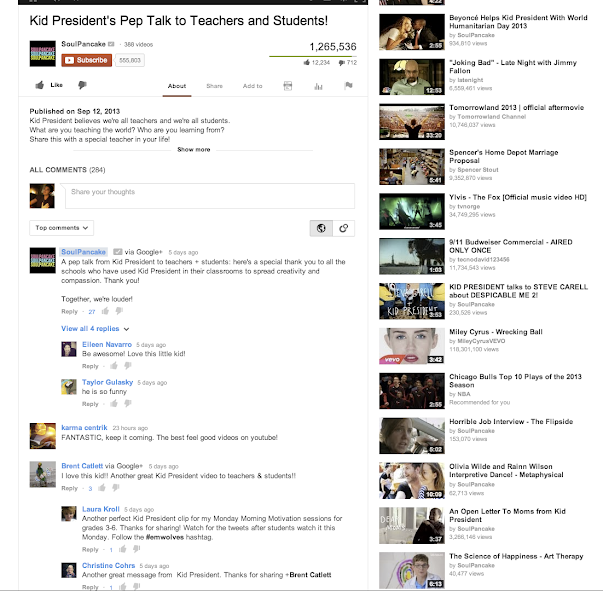 YouTube Google+ Comments