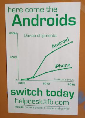Facebook empfiehlt Android