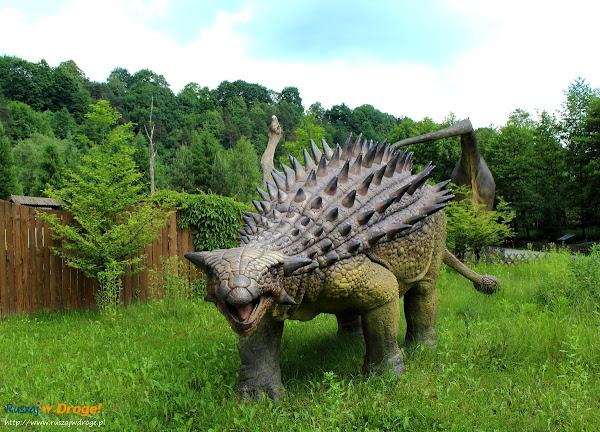 bałtów jura park  - ankylozaur pancerny