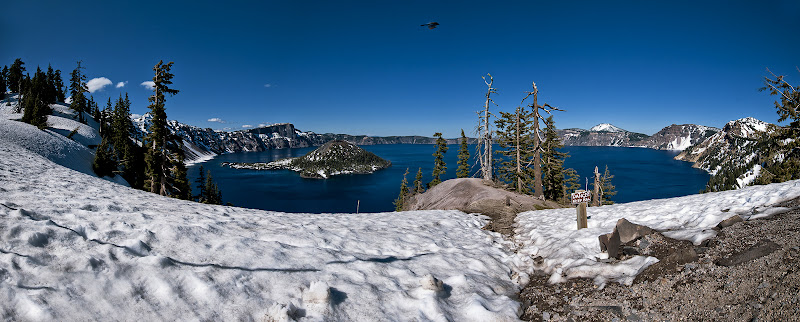 Great American Road Trip, cz. 1 -- Crater Lake, Oregon