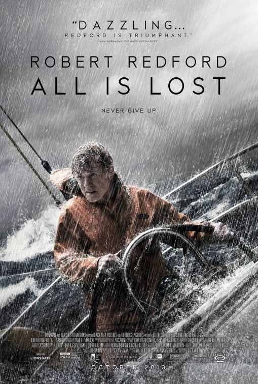 Poster Of All Is Lost (2013) Full Movie Hindi Dubbed Free Download Watch Online At Alldownloads4u.Com