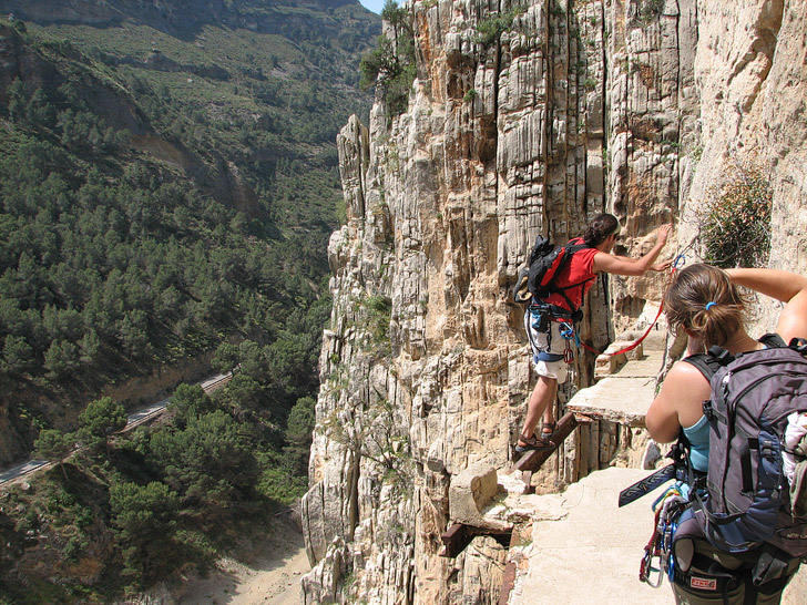 El Caminito del Rey / The King's Pathway (15 Scariest Hikes in the World).