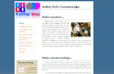 Kalitay web, comunicación
