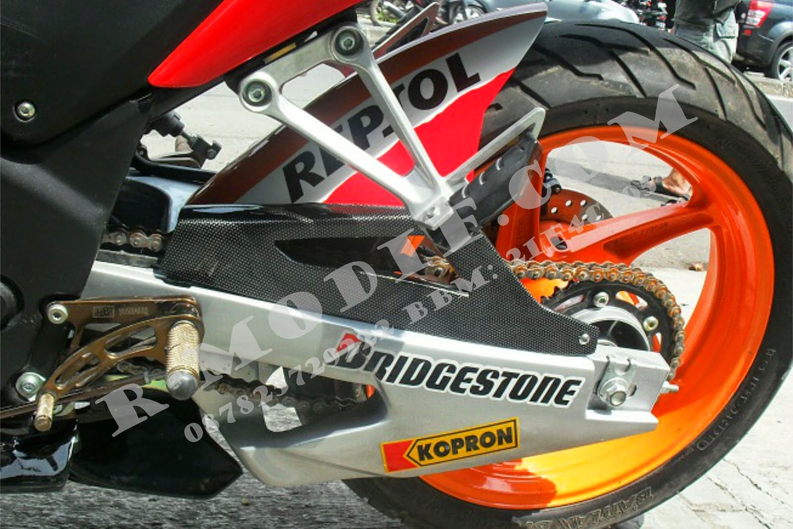 Cbr 150r Modifikasi