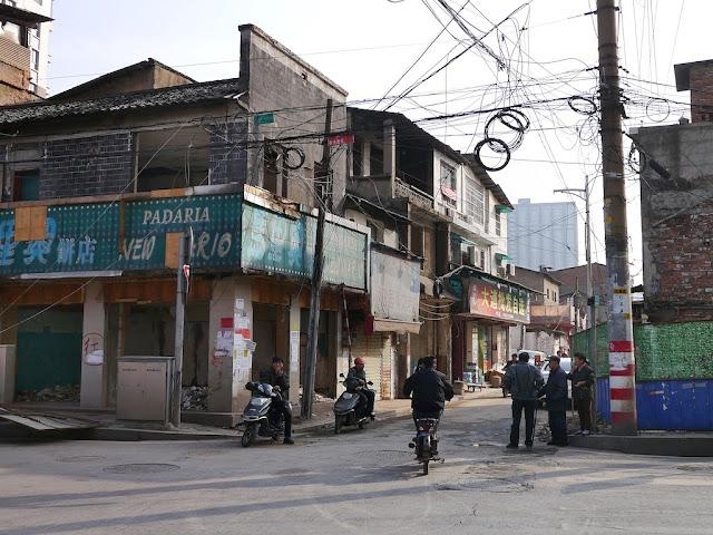 An empty Padaria New Mario at Beizheng Street in Changsha