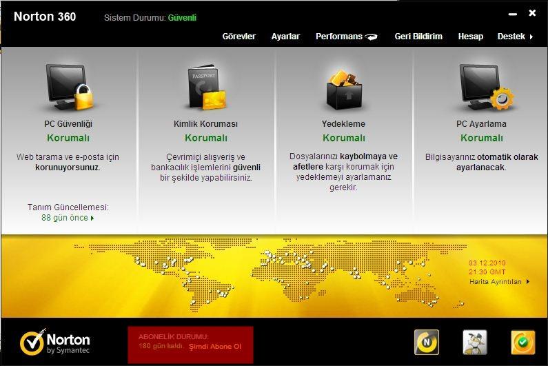 Norton 360 v5.0.0.125 Türkçe Full