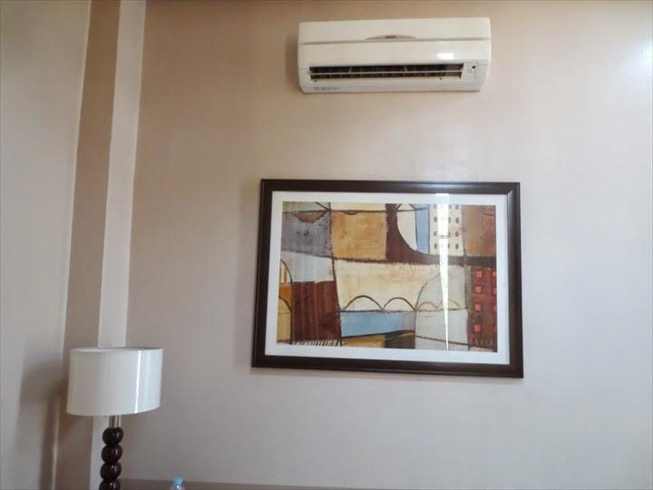 プリンセスマディソンホテル(アンヘレス)セパレート式エアコン