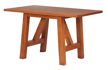 "50"" x 32"" Silvan Dining Table in Red Cherry"