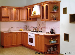 Tủ bếp gỗ đẹp SM193