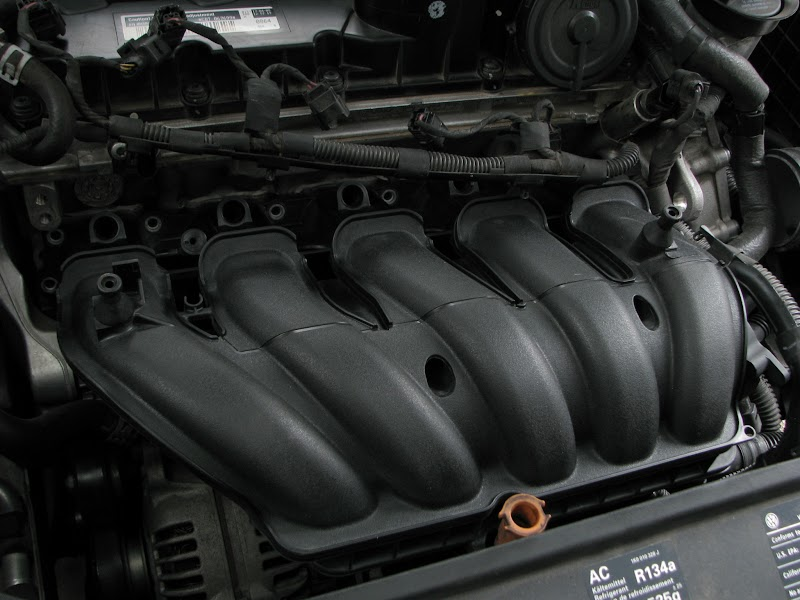 "VW Rabbit Forum "" DIY: 2.5L MKV Intake Manifold Removal - Cleaning"" Volkswagen Rabbit Owners Club"