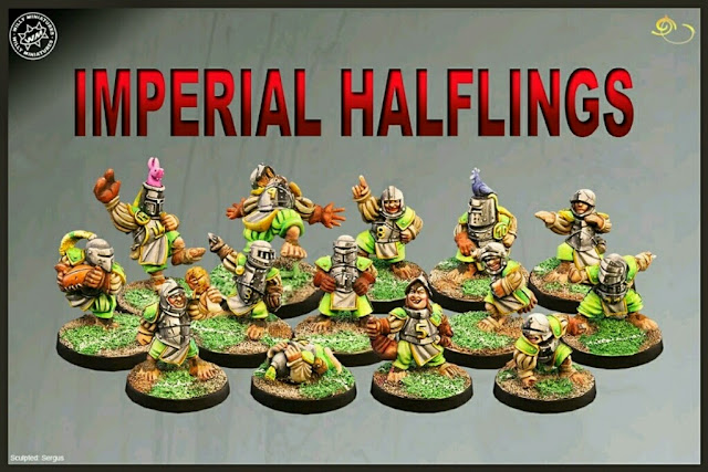 Halflings Blood Bowl Willy miniatures Sergus