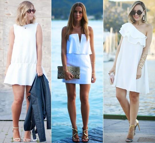vestido branco para o fim de ano