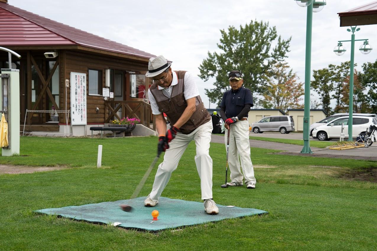 第1回高齢者を祝うパークゴルフ大会