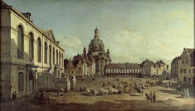 Canalettův pohled na Neumarkt - http://goo.gl/TbdlPa