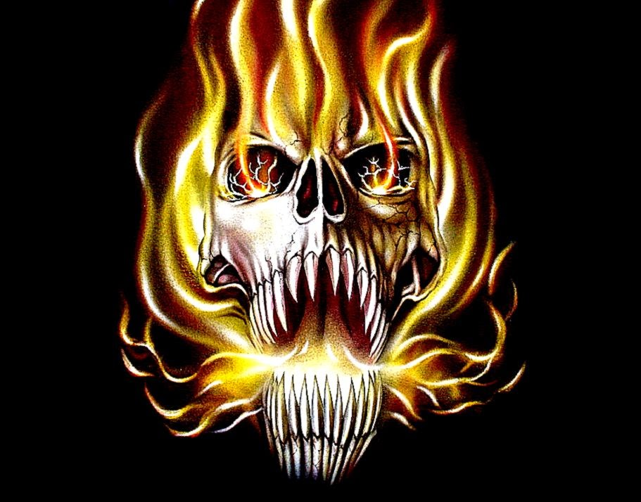 Flaming Skull Wallpapers | Cool HD Wallpapers