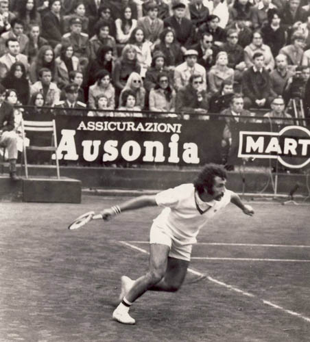 1972. Tiriac - Smith in Davis Cup