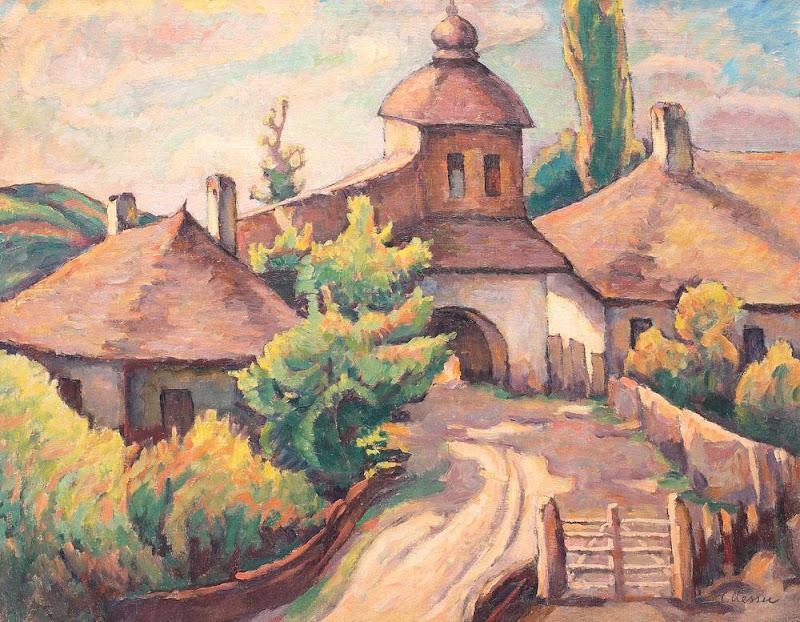 Camil Ressu - Peisaj din Ardeal