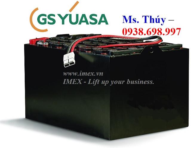 Bình acquy GS Yuasa xe nâng