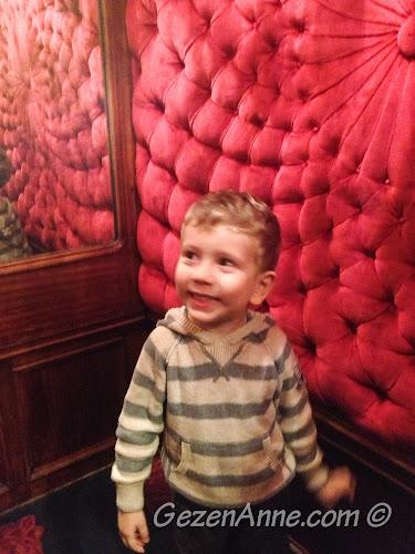 oğlum otantik asansörde, Le Negresco