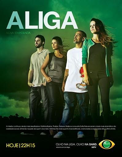lancamentos Download   A Liga   Viver Na Rua   HDTV (04/10/11)