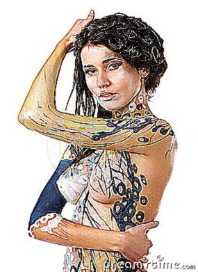 girl body art 8236863