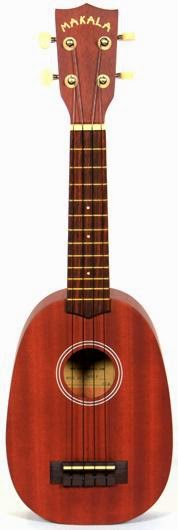 Kala Makala soprano pineapple at Lardy's Ukulele Database